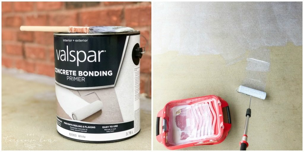 Valspar Concrete Binding Primer - How to Paint A Concrete Patio