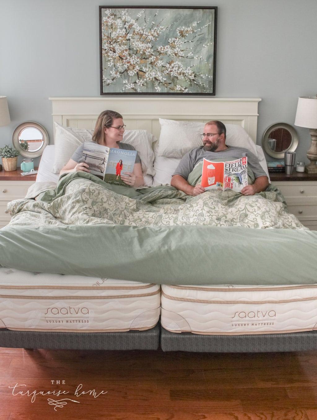 Sleeping In Separate Beds Saatva Mattress Review