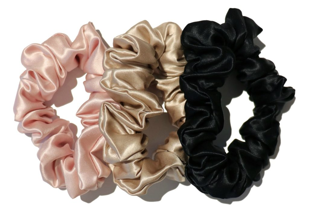 Slip Silk Hair Scrunchies keep my hair clean longer and don't damage or crease my hair!