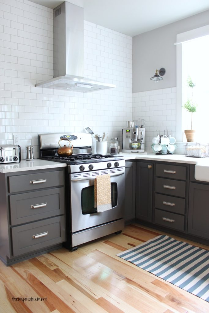 The Best Gray Paint Colors for Your Home -->> Kendall Charcoal in the kitchen