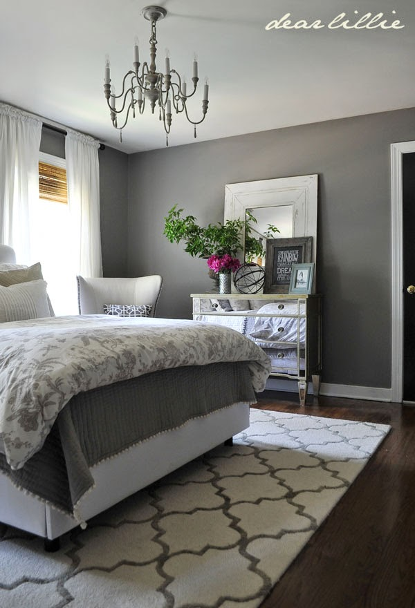 The Best Gray Paint Colors for Your Home -->> Graystone in the bedroom