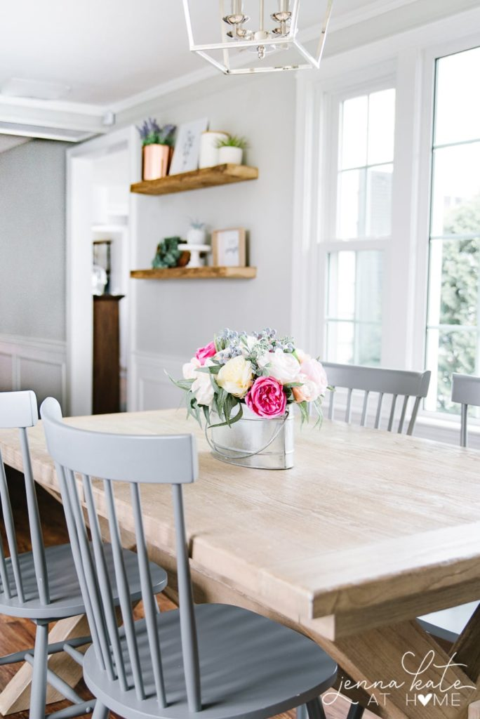 The Best Gray Paint Colors for Your Home -->> Repose Gray in the dining room