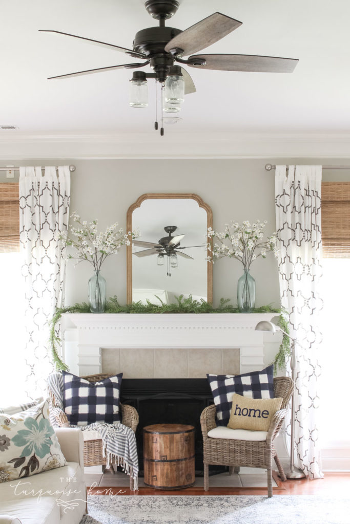 Summer Ceiling Fan - a must have for southern summer homes