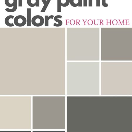 The Best Gray Paint Colors for Your Home