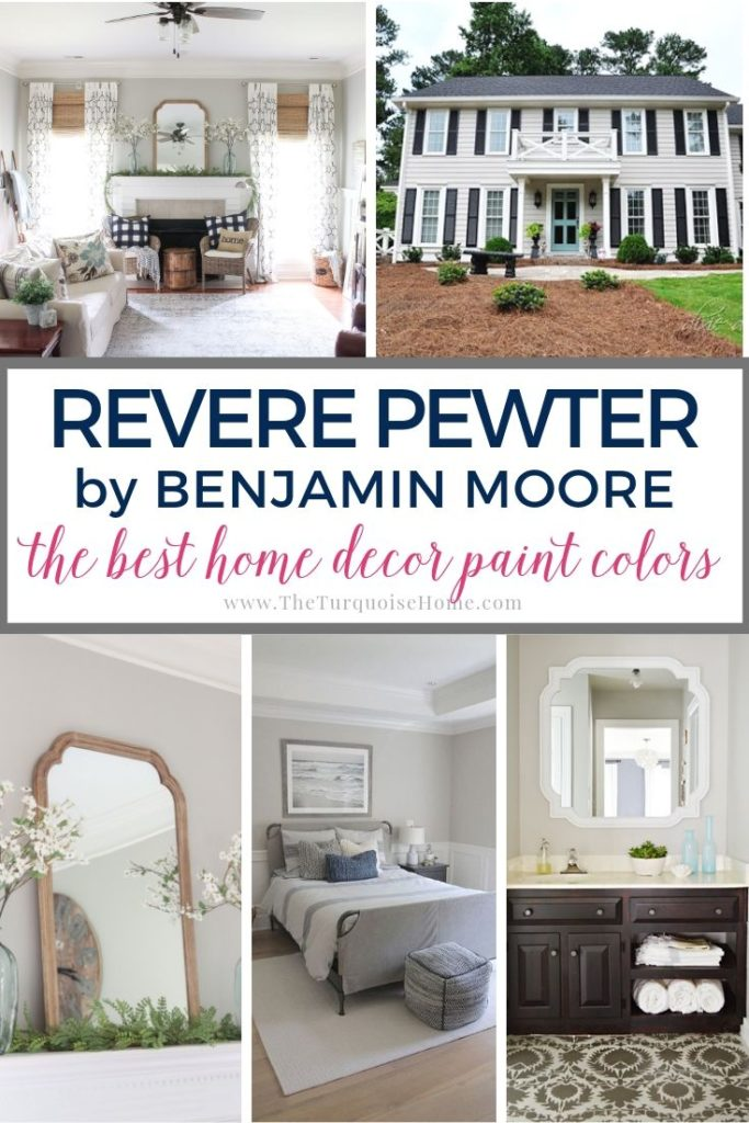 Revere Pewter The Best Home Decor Paint Colors The Turquoise Home