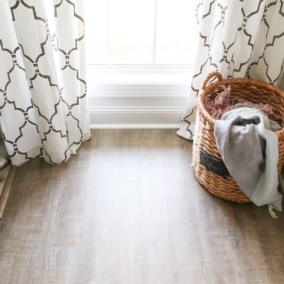 New Luxury Vinyl Plank floors | COREtec Boardwalk Oak flooring | LVP