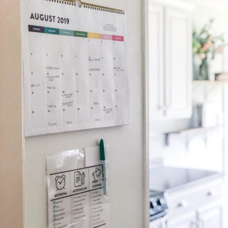 Family Calendar Ideas | Emily Ley Wall Calendar | Chore Charts | Family Command Center