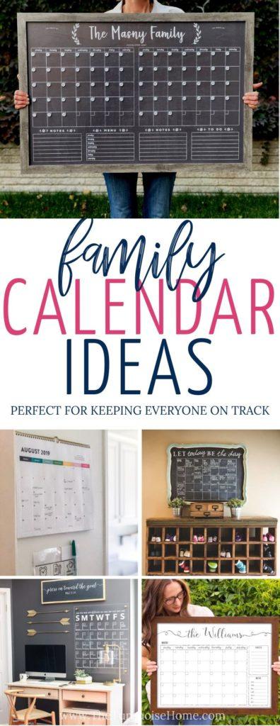 Family Calendar Ideas | Emily Ley Wall Calendar | Chore Charts | Family Command Center