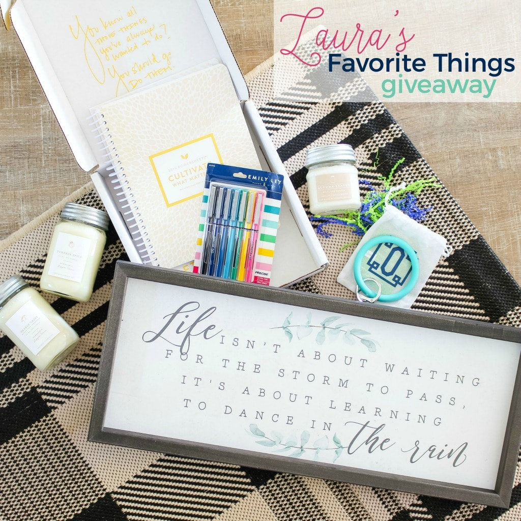 Favorite Things Giveaway from The Turquoise Home!
