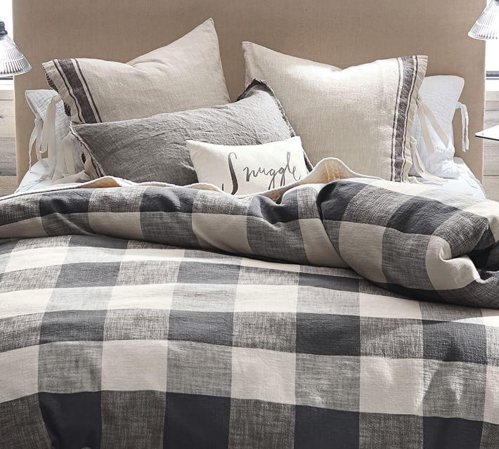 Buffalo Check Duvet | farmhouse bedding
