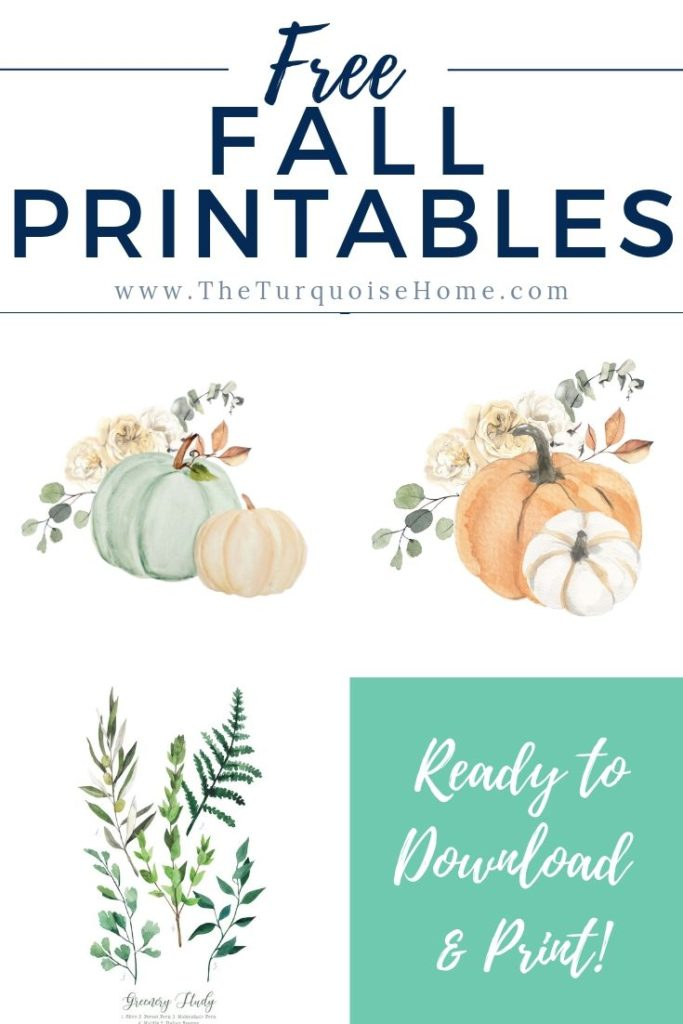 Free Fall Printables | Free Printable | Free Printables | Autumn Printables | Pumpkin Decor | Fall Decor