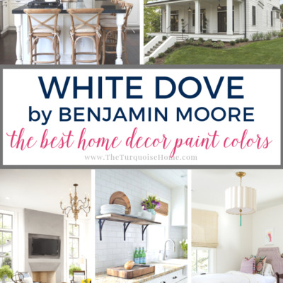 Benjamin Moore White Dove Paint Color - inspiration photos