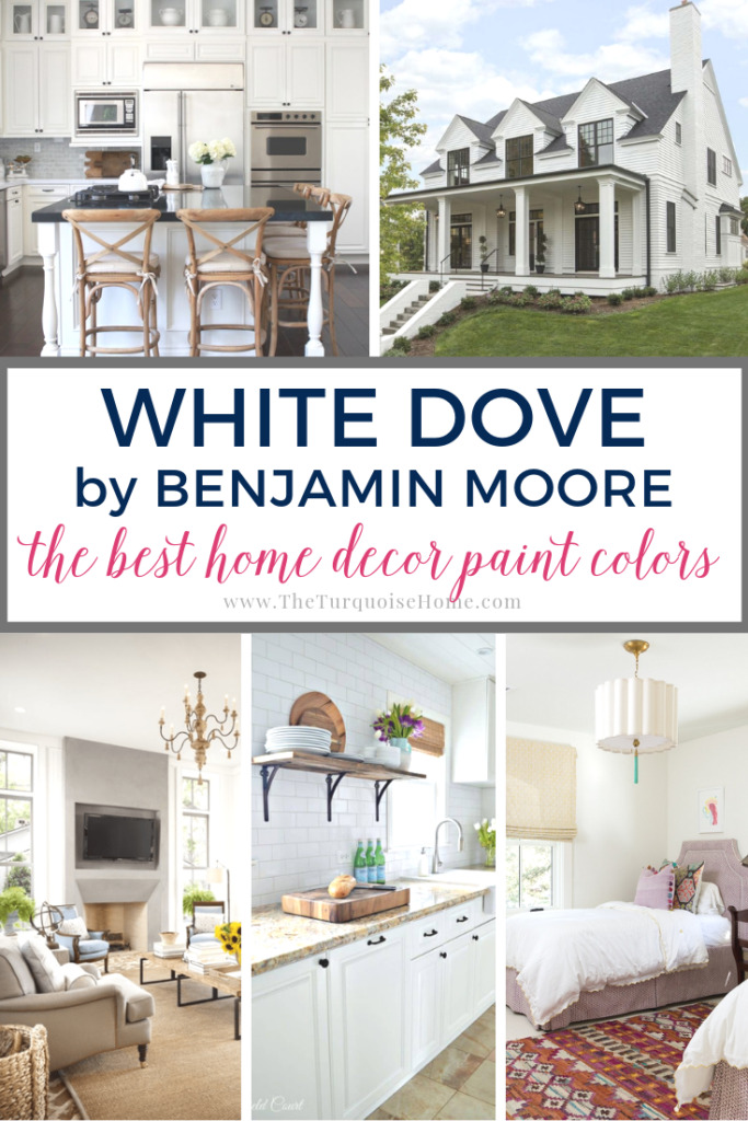 Benjamin Moore White Dove The Best Home Decor Paint Colors The Turquoise Home
