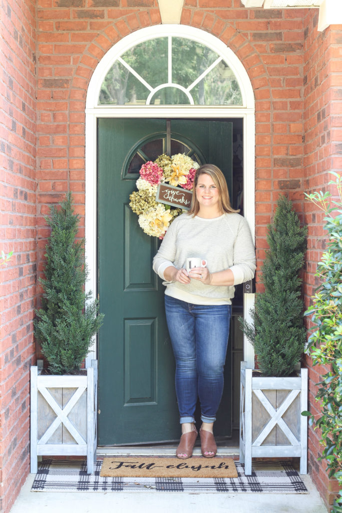 Favorite Fall Outfit and Fall Home Tour