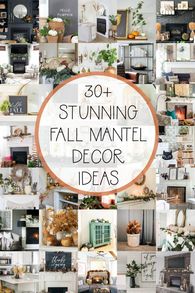 30+ Fall Mantel Decor Ideas