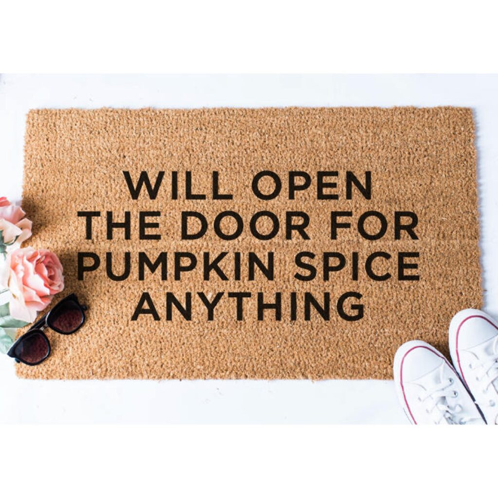 Pumpkin Spice Doormat