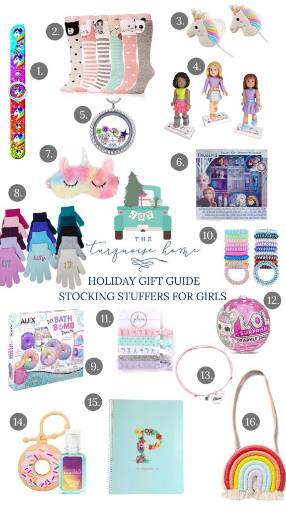 Stocking Stuffer Ideas for Girls - something for every budget!
