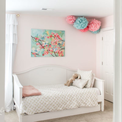 Rooms decor ideas for girls | girls bedroom ideas | gold, pink and turquoise girls bedroom decor