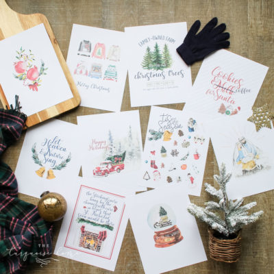 10 Christmas Printables for your home