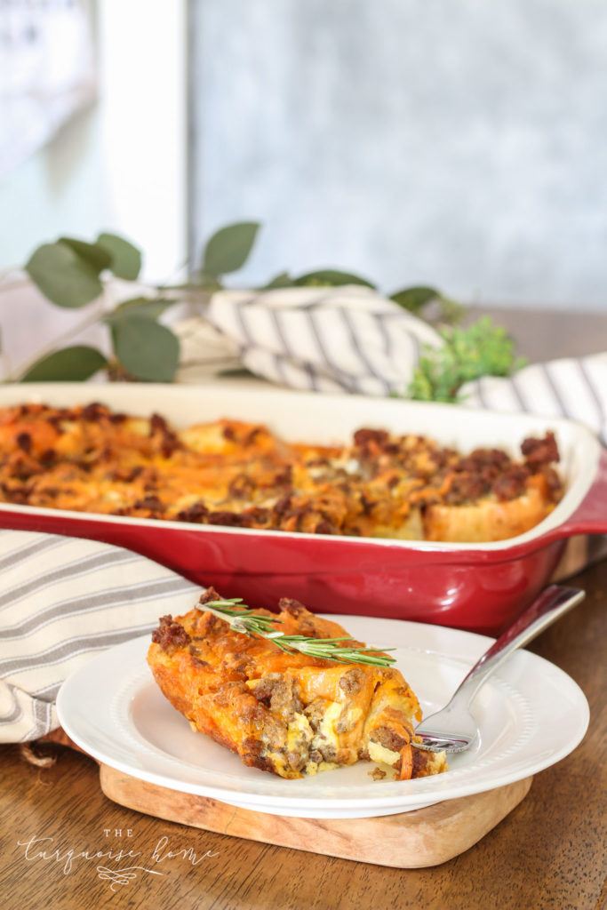 Overnight Sausage Breakfast Casserole