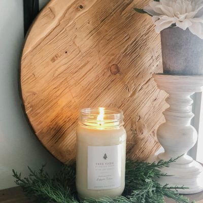 Tree Farm Candle for Christmas