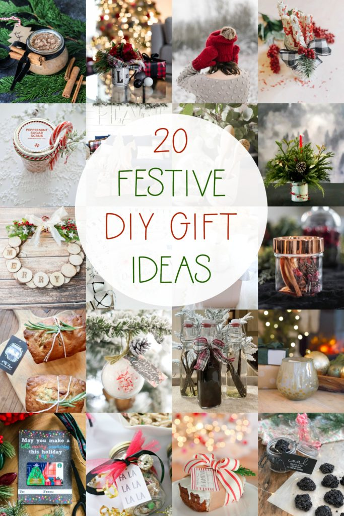 20 Festive DIY Gift Ideas for Christmas!!