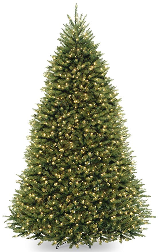 The BEST Artificial Christmas Trees | 9 Foot Dunhill Fir Tree with 900 Dual LED Lights and 9 Function Footswitch
