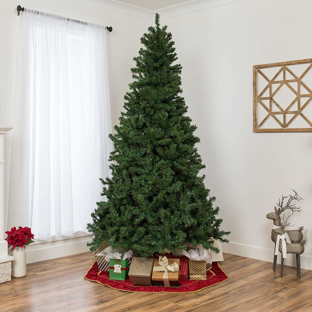 The BEST Artificial Christmas Trees | Best Choice Products 9ft Spruce Hinged Artificial Christmas Tree
