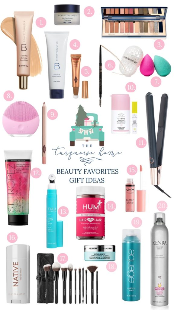 Beauty Gift Guide | The Turquoise Home