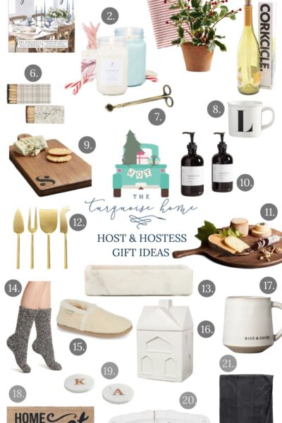 Host and Hostess Gift Ideas