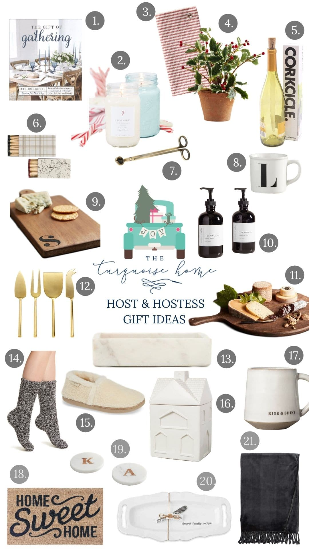 Host and Hostess Gift Ideas
