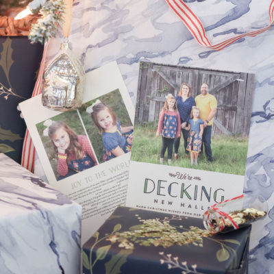 Christmas Traditions: the Christmas card - holiday moving announcement