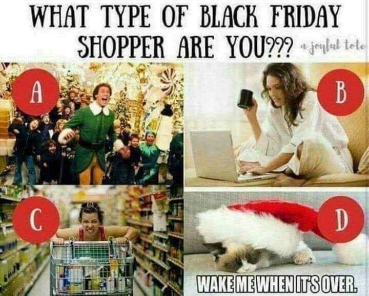 What kind of Black Friday shopper are you??