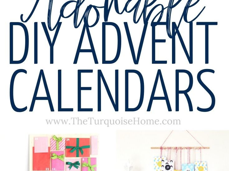 12 DIY Advent Calendars To Celebrate The Season