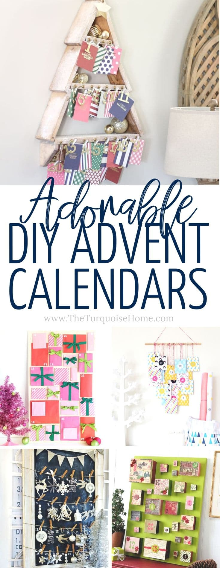 12 DIY Advent Calendars To Celebrate The Season