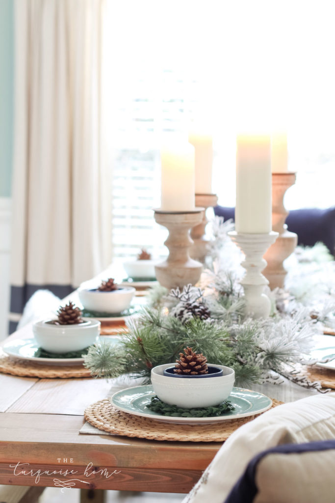 Winter tablescape for the holidays and beyond!