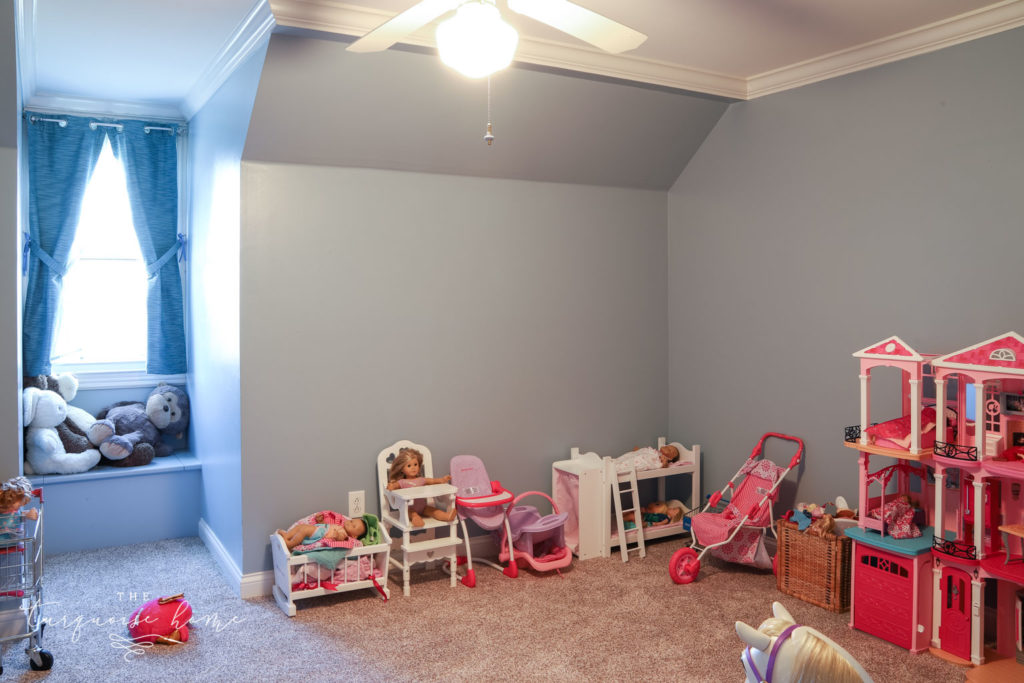 Play room in the new house.