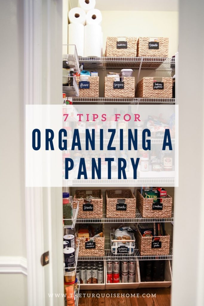 7 Tips for Organizing a Pantry