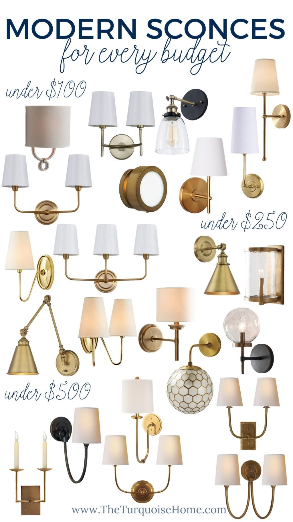 Modern Sconce Lighting for Every Budget