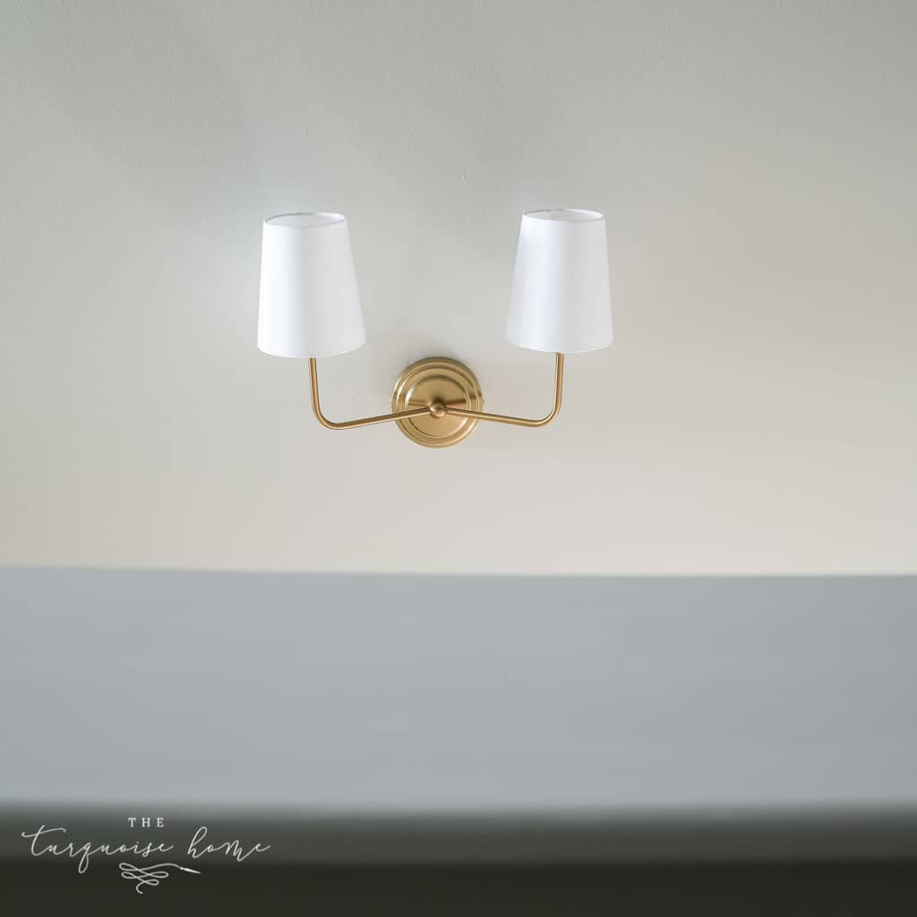 New Stairwell Lighting: Brass Double Sconce - Modern Sconce Lighting for Every Budget