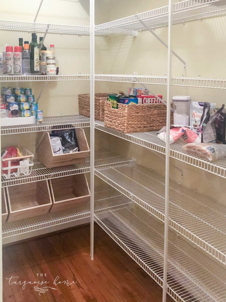How to Organize a Pantry - systematically organize your pantry so that it makes sense to you