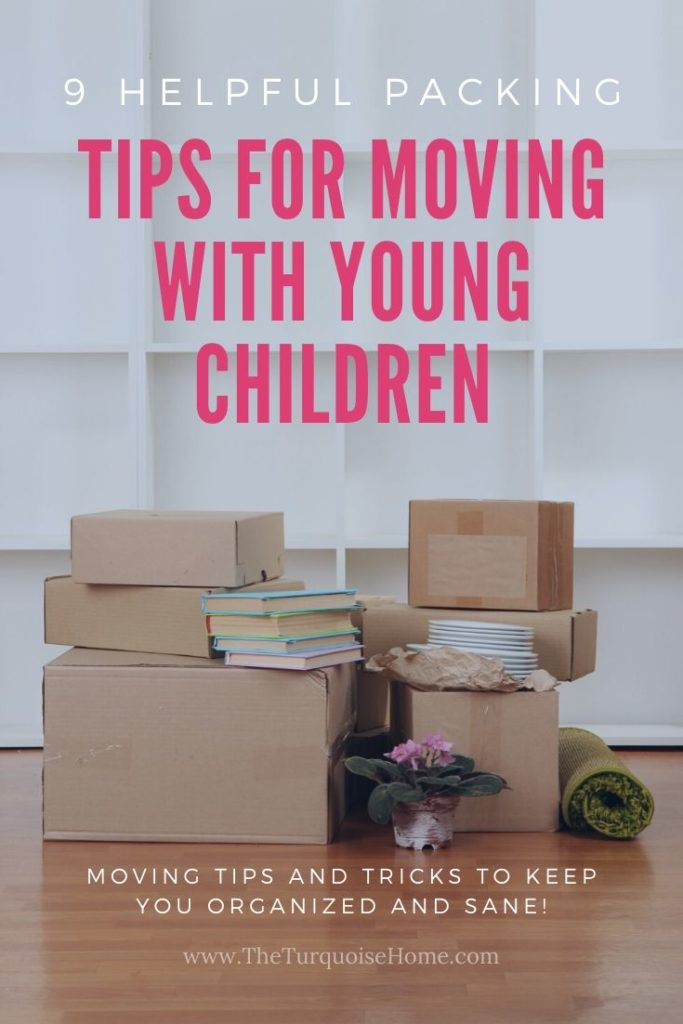 Packing Tips for Moving with Young Children