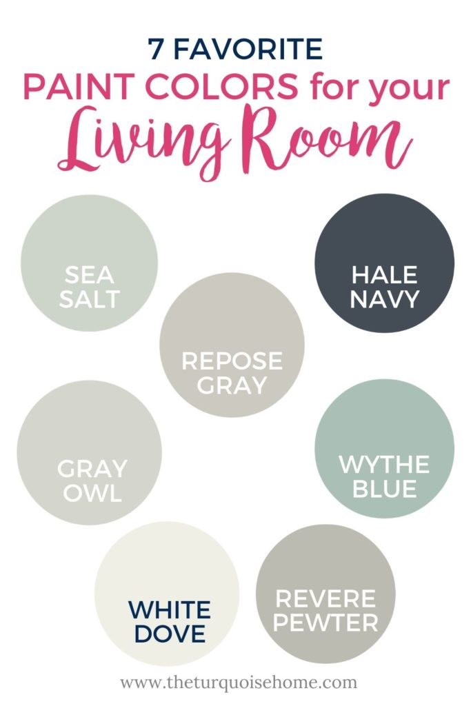 7 Favorite Paint Colors for Your Living Room | Living Room Paint Colors