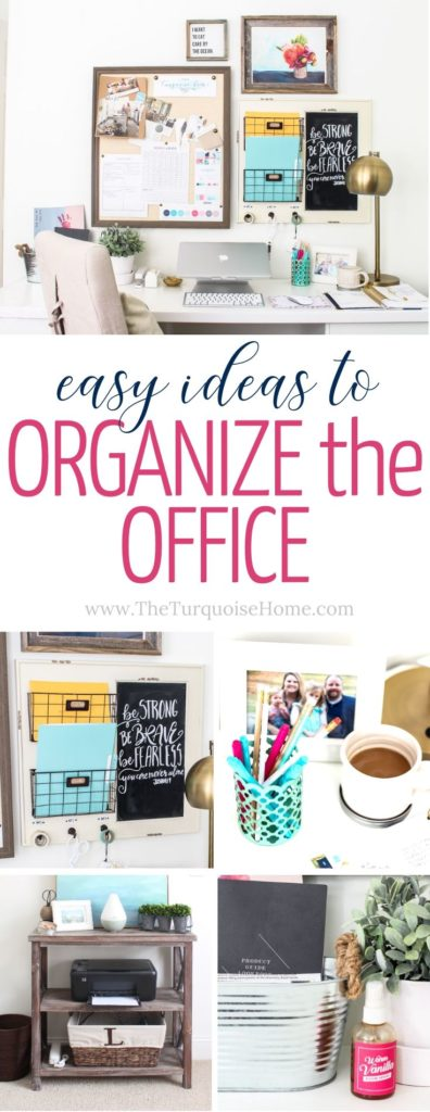 Easy Office Organization Ideas