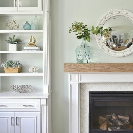 Sea Salt | Paint Colors in Living Room | Sand and Sisal