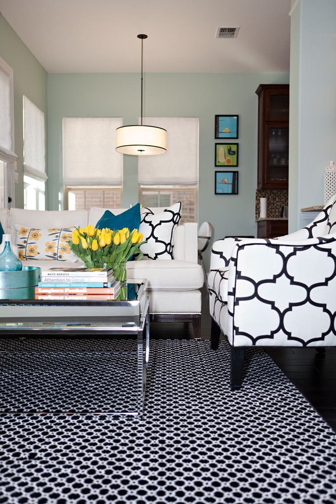 Wythe Blue | Paint in the Living Room | Studio Ten25