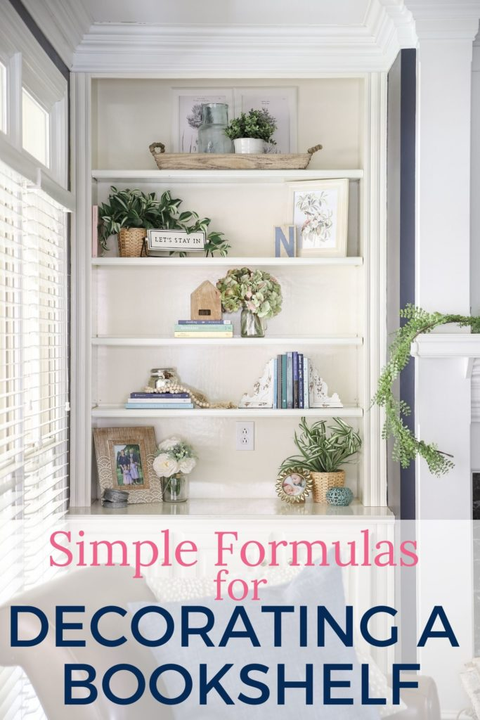 Simple Formulas for Decorating Bookshelves