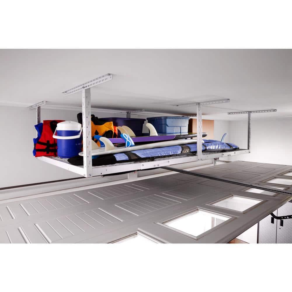 white gladiator garage overhead storage