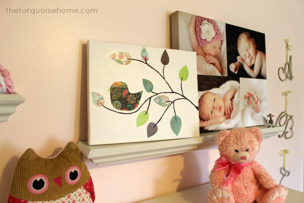 Pink Decor in Girl's Nursery