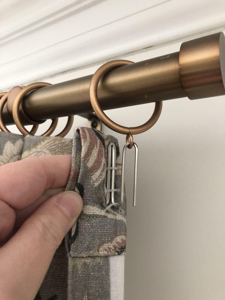 drapery hooks and drapery rings